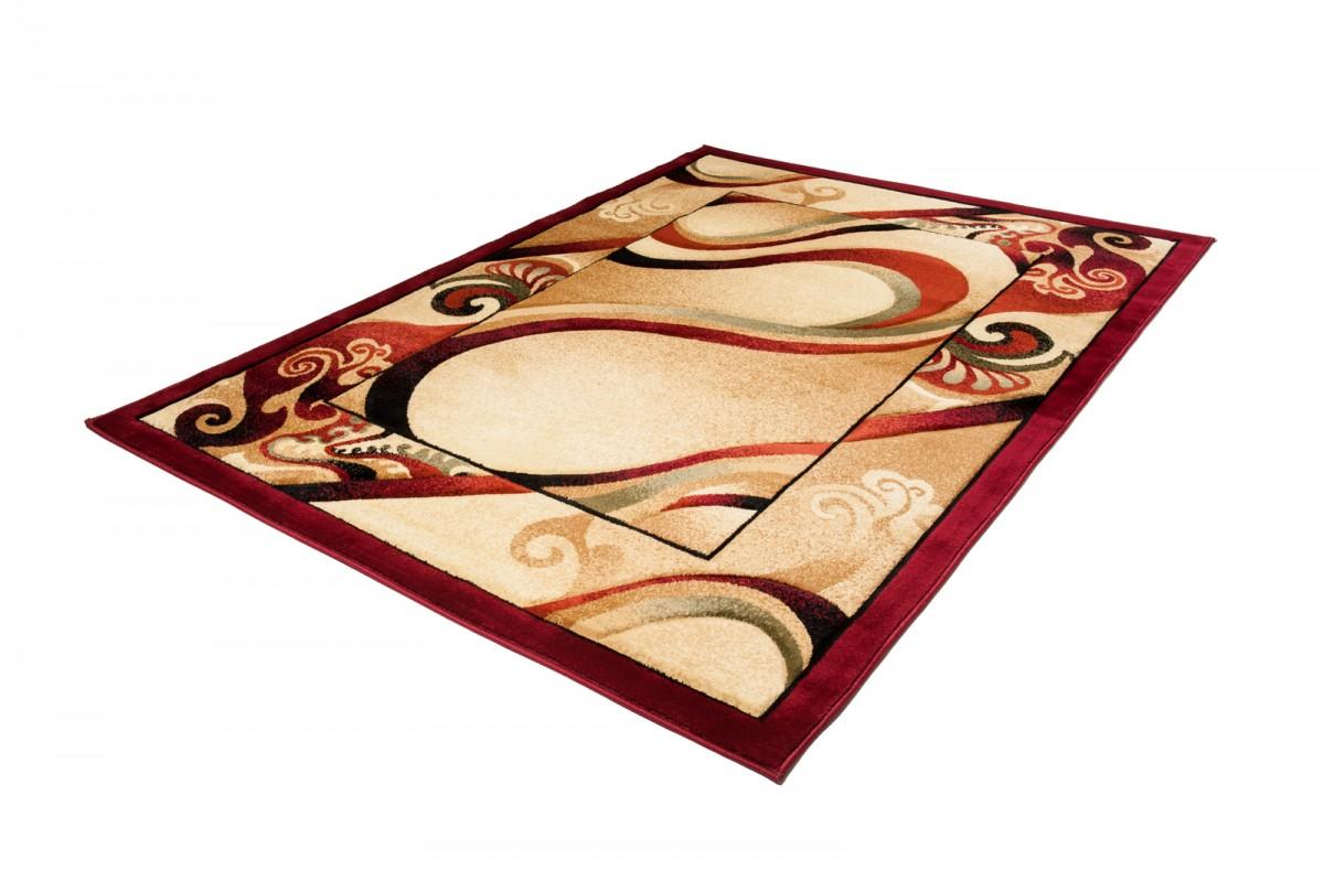Designer Teppich Modern Braun 80x150 120x170 160x230 XXL Wohnzimmer
