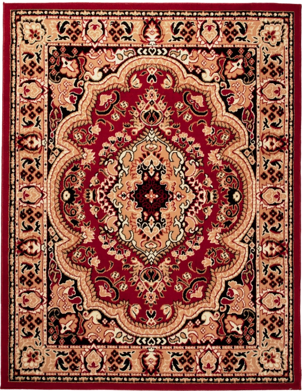 teppich orient perser orientalisch in rot l ufer xxl. Black Bedroom Furniture Sets. Home Design Ideas
