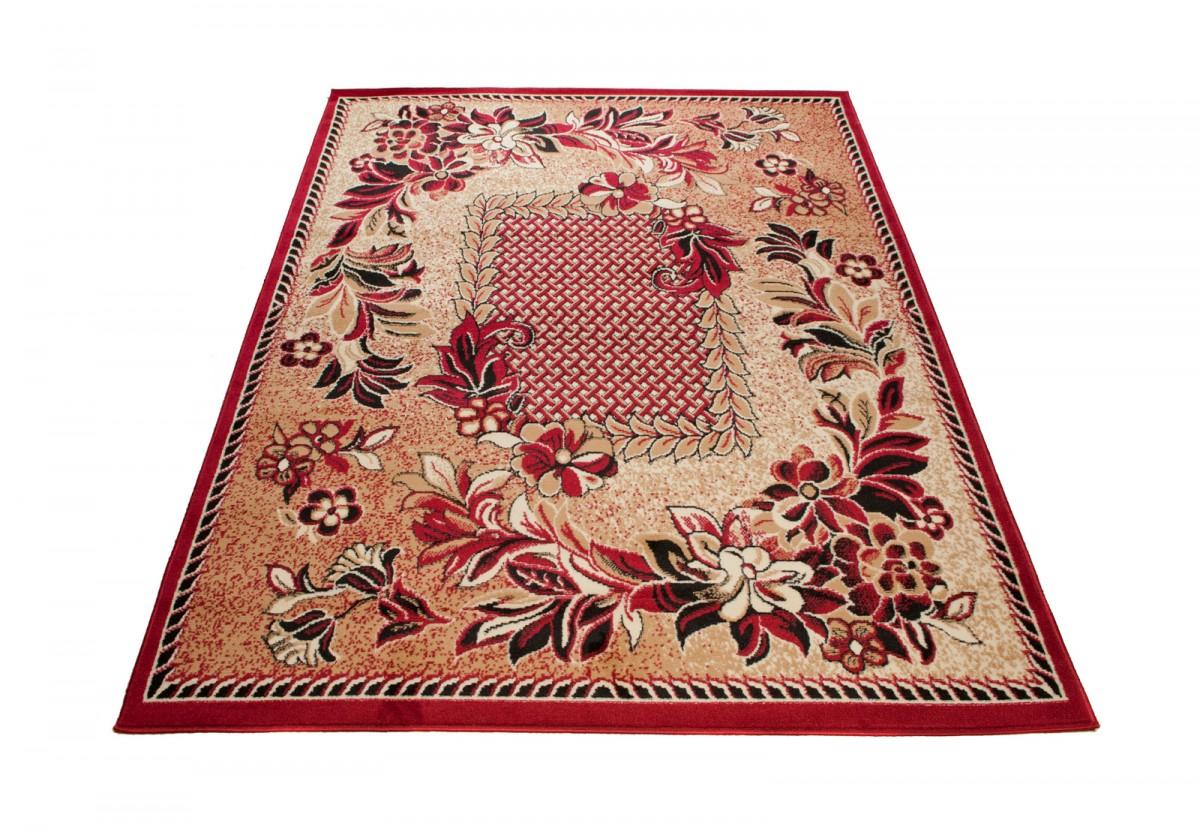 designer modern teppich rot kurzflor 80x150 120x170 160x230 200x300 300x400 ebay. Black Bedroom Furniture Sets. Home Design Ideas