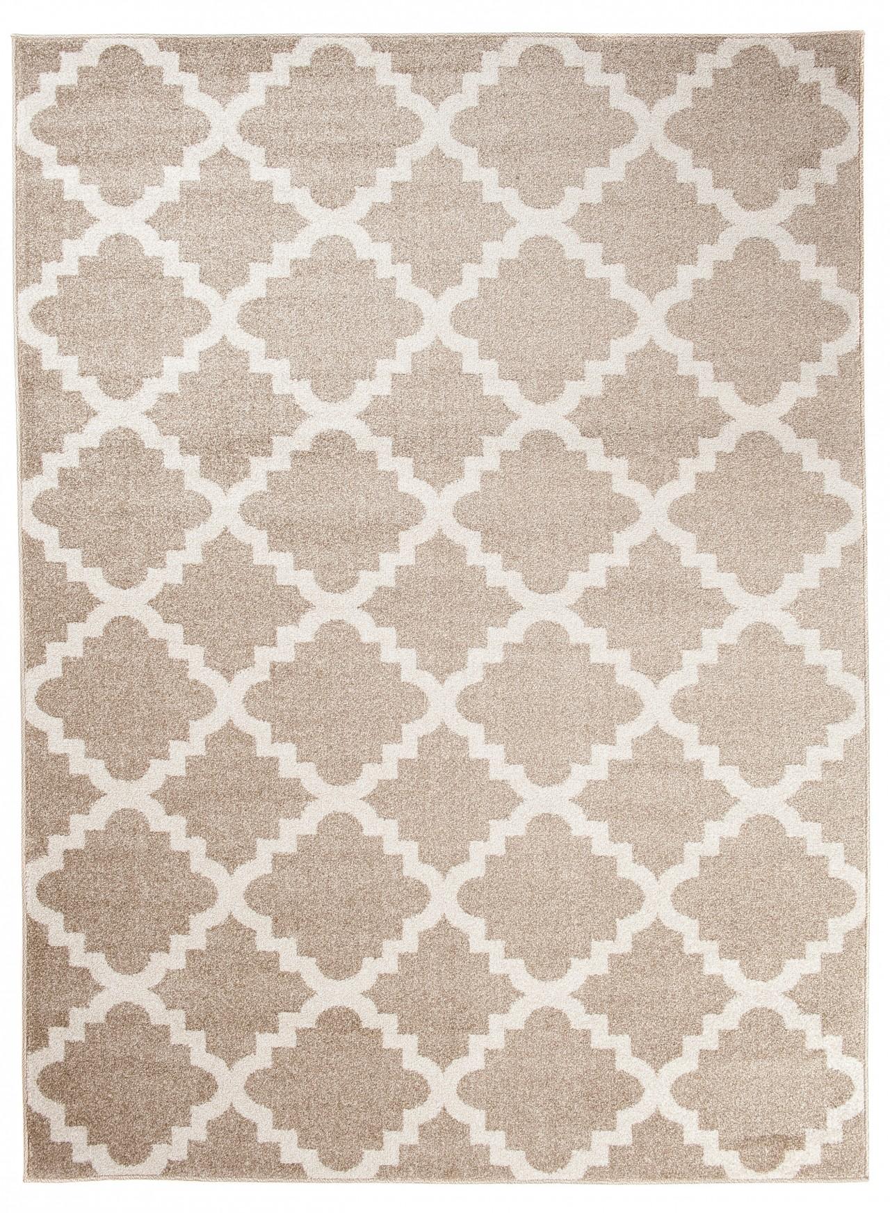 Das Bild Wird Geladen Designer Teppich Beige Marokkanisches Modern  Muster Wohnzimmer Esszimmer