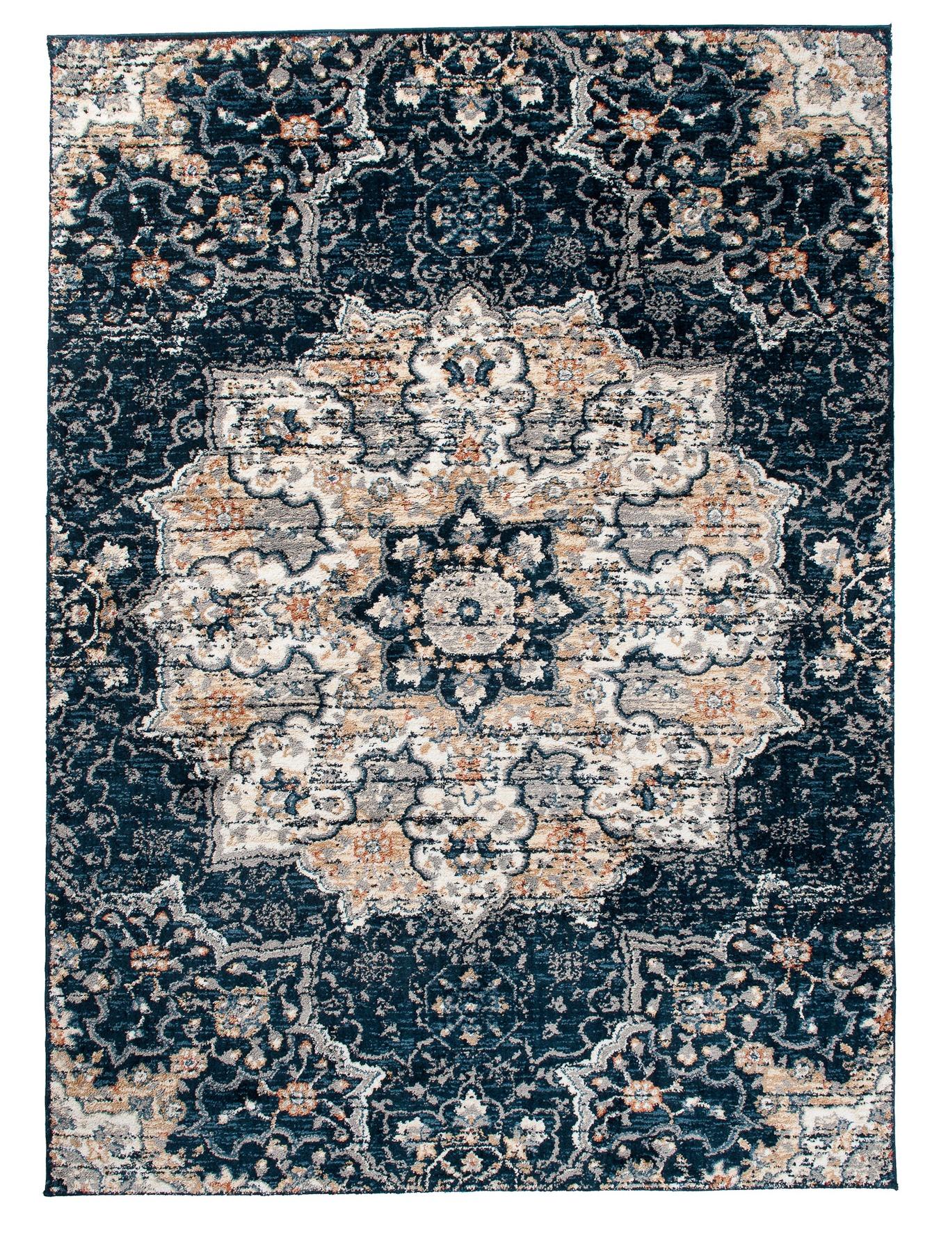 Teppich Orient Perser Blau Blau Blau Hochflor 20 mm 80x150 120x170 160x230 XXL und mehr 9abb88