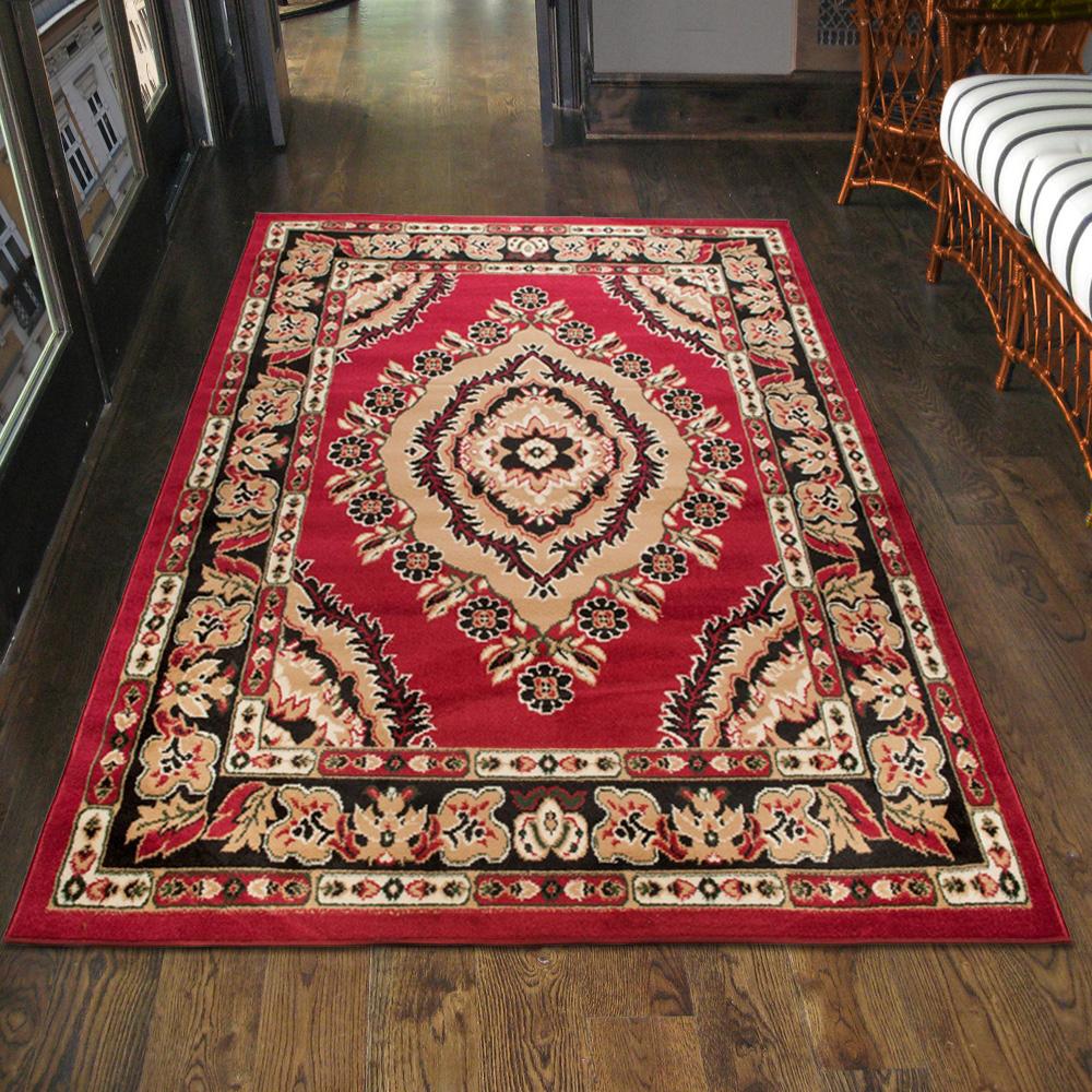 teppich l ufer orient perser orientalisch in rot xxl. Black Bedroom Furniture Sets. Home Design Ideas
