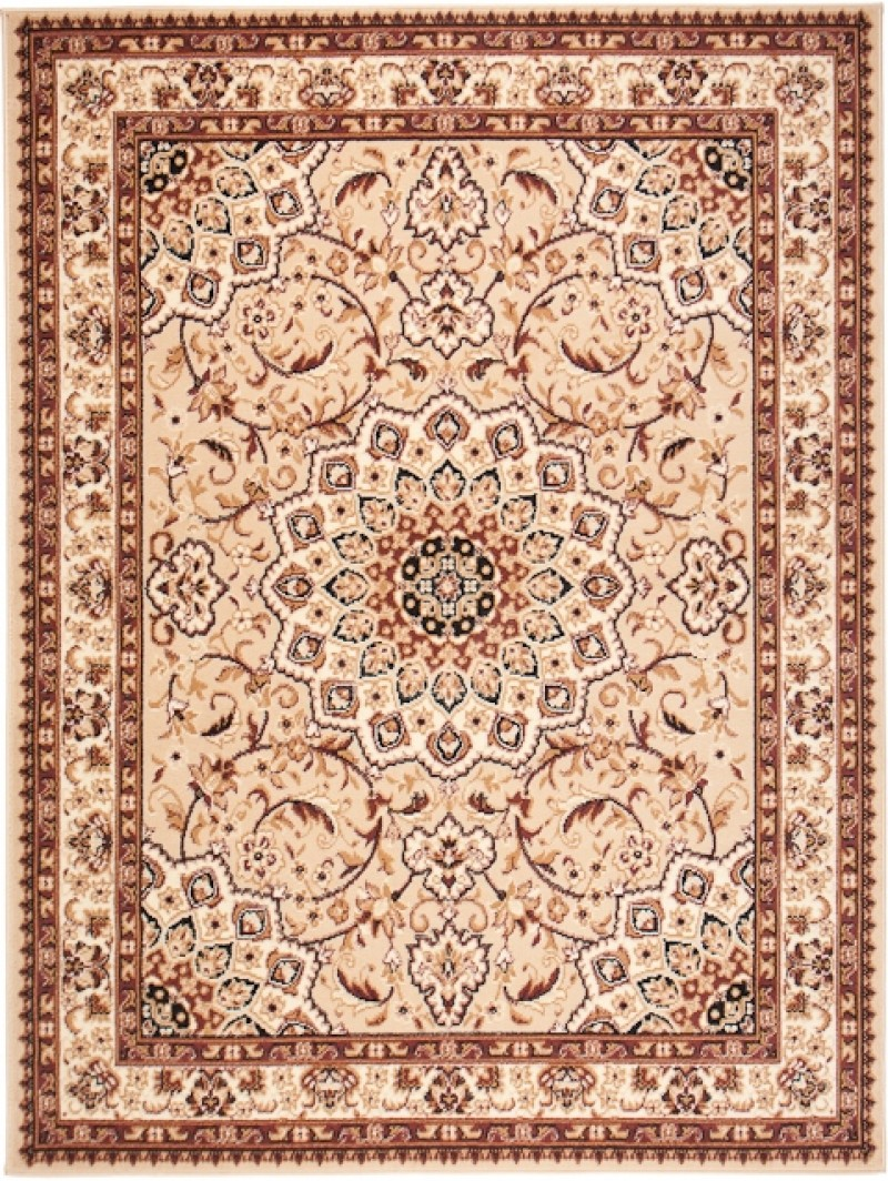 teppich orient perser orientalisch in beige creme mandala s xxl 200x300 160x230 ebay. Black Bedroom Furniture Sets. Home Design Ideas